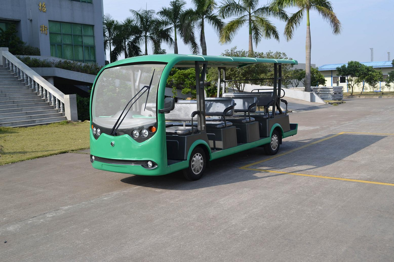 High quality new arrival 11 seats resort cart