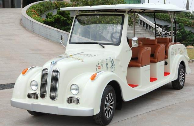 ECARMAS 8 seats electric classic car, classic cart for sale, classic cart supplier