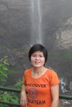 ECARMAS' sales manager Carol Li