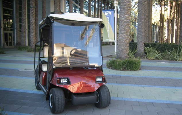 Resort car, club car golf cart supplier in China, city shuttle cart, electric vehicle, villa cart, hotel cart