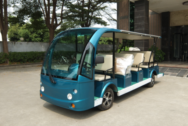 Resort car, sightseeing car, leisure vehicle, city shuttle vehicle, recreational car, cheap resort car from China, cheap electric shuttle vehicle from China, ECARMAS, Cheap electric cart for shuttle service