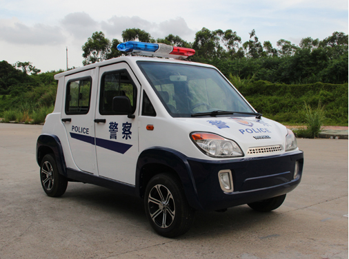 5 seats electric police patrol vehicle with door supplier in China