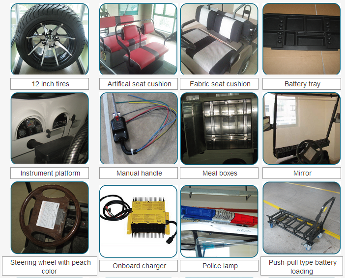 Electric carts parts and accessories