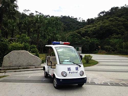 Police patrol cart