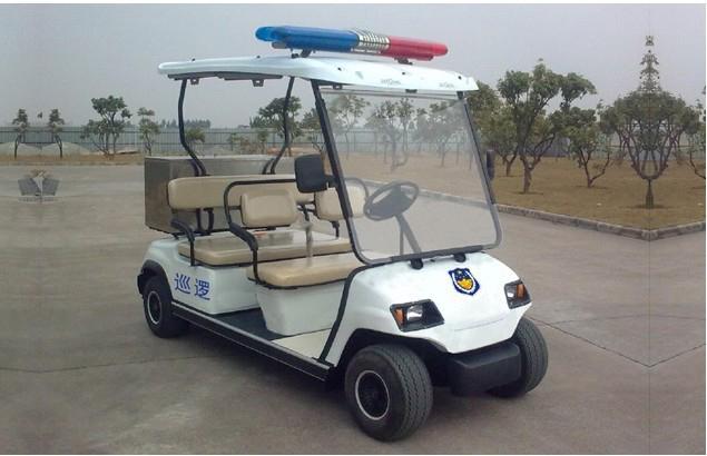 Electric police patrol wagon