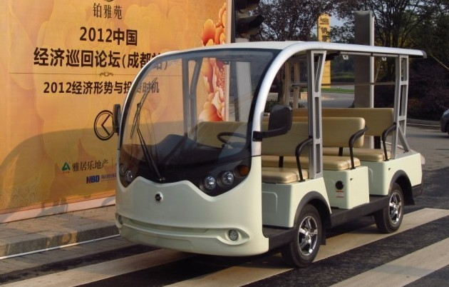 8 seats electric tourist car for sale in China