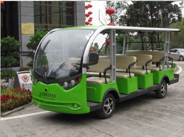 EcarMAS sightseeing car, city shuttle car