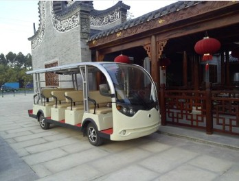 Sightseeing car, city sightseeing car, shuttle car, city tourist car