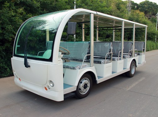 Ecarmas electric 23 seats tourist car in China, sightseeing car to purchase or sale from China