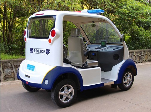 mini police car, safety patrol cart, electric safeguard car,police car, electric low speed police car, Chinese electric police car, China's security patrol vehicle manufacturer, electric patrol wagon, police patrol wagon, security patrol vehicle, cheap police patrol car from China, Chinese cheap security patrol vehicle, patrol wagon factory, cheap police patrol wagon from China, ECARMAS, electric cheap police car, low speed vehicle, short distance vehicle.