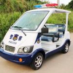 Electric police car, police patrol car in China