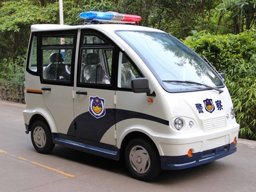 High quality 4 seats electric police patrol car manufacturer in China