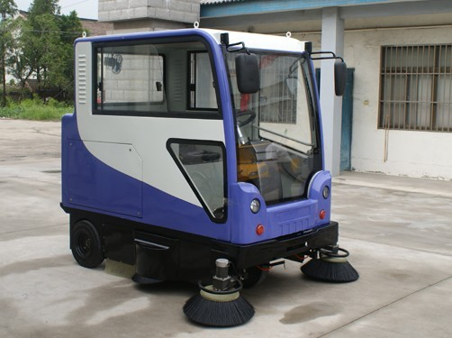 High quality electric street sweeper