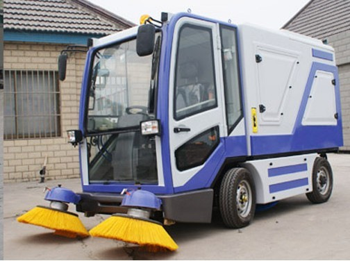 Electric road or street sweeper machine for sale company in China