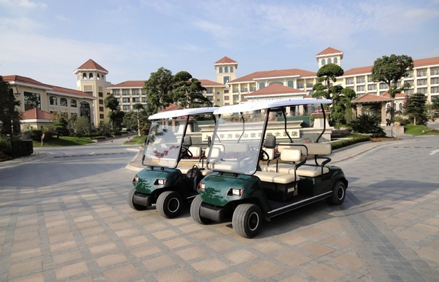 Ecarmas electric 4 seats club car, golf cart utility vehicles for hunting of China