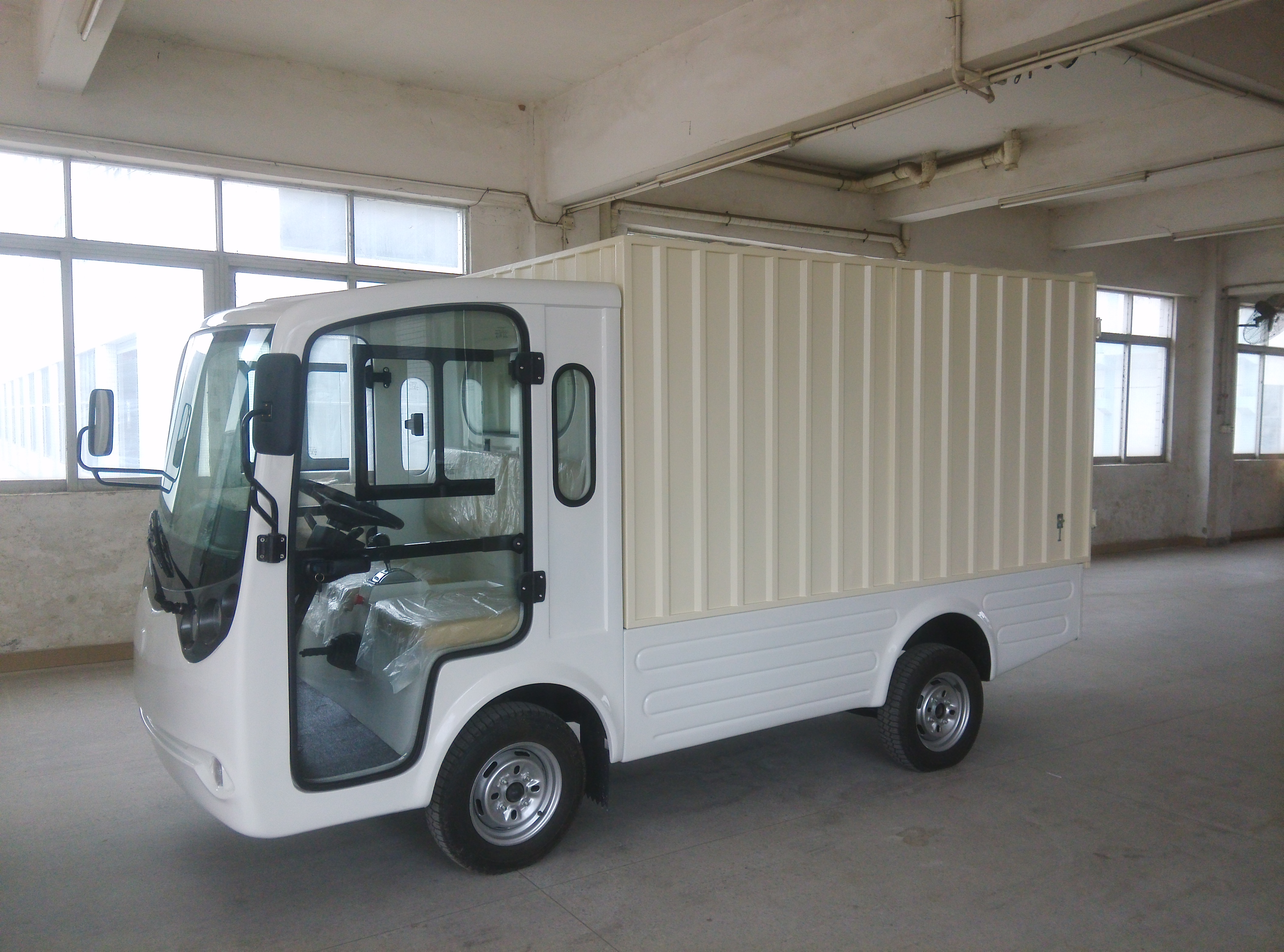 ECARMAS electric truck van