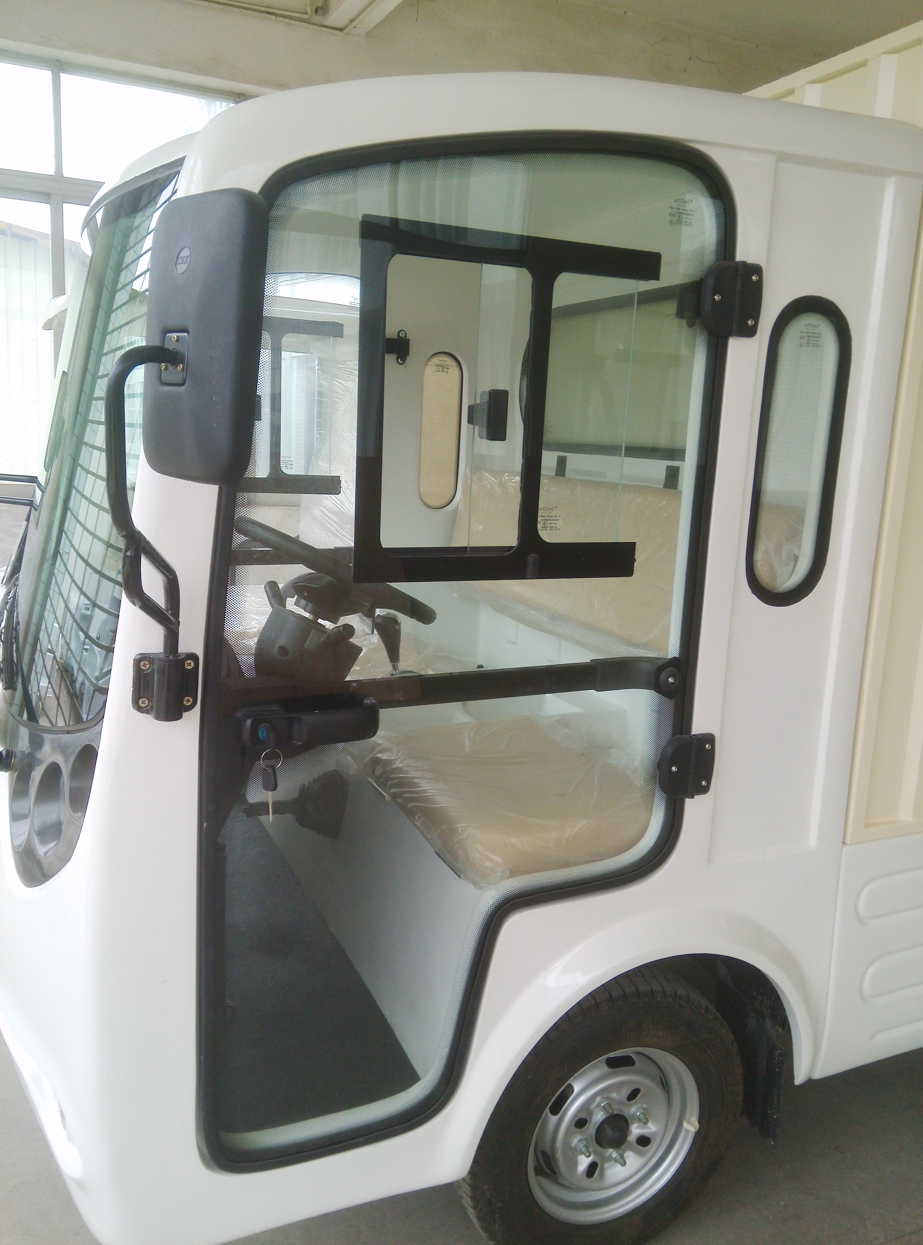 ECARMAS electric cargo vehicle