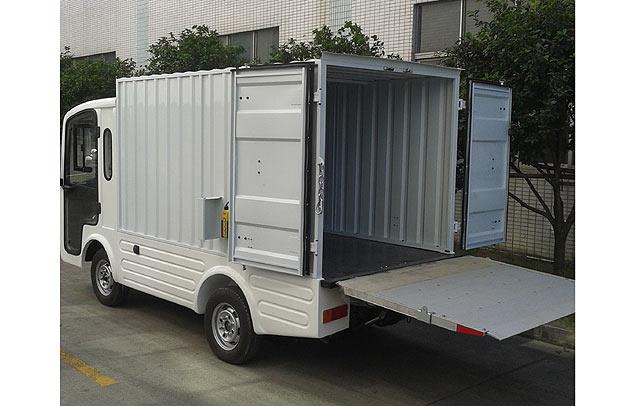 EcarMAS electric utility cargo truck