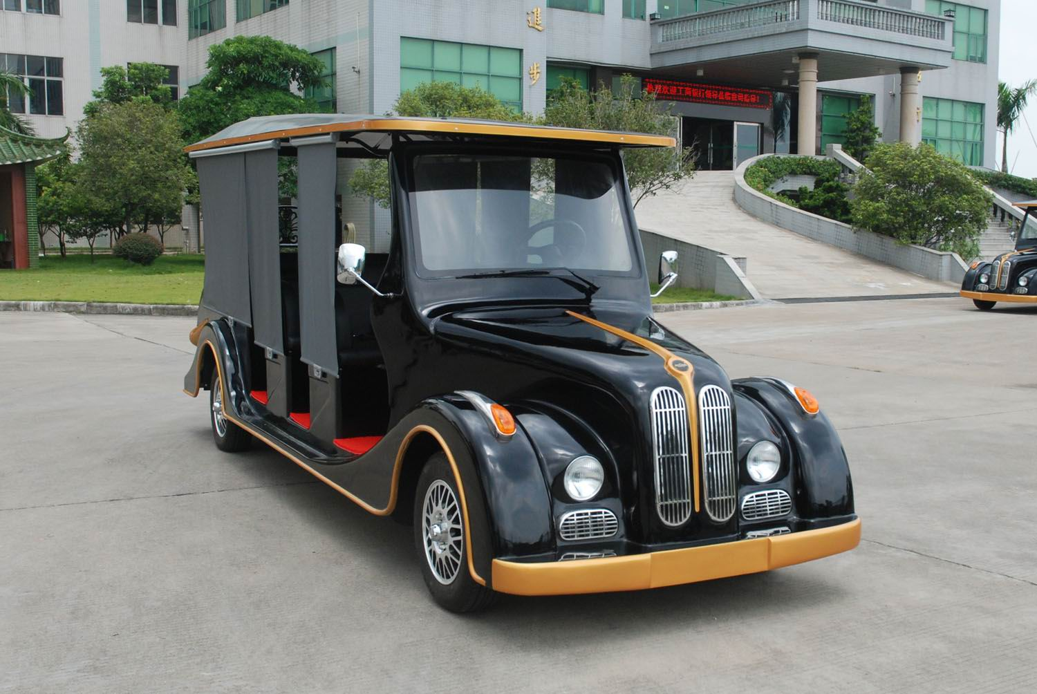 8 seats electric vintage car, classic car with cheap price