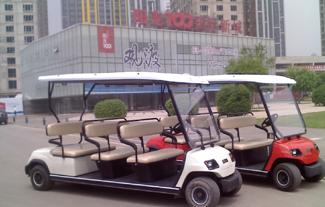 Sightseeing Resort Cart