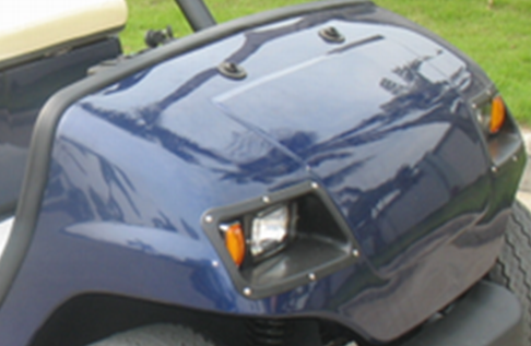 Color choice for golf cart, resort car, sightseeing car, patrol car, villa car