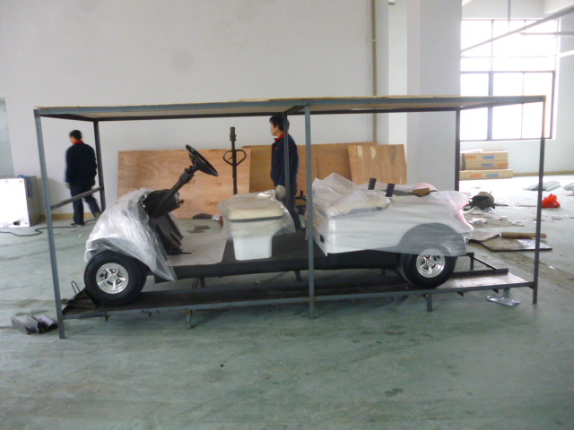 Resort buggy, golf buggy, 4 seats shuttle buggy