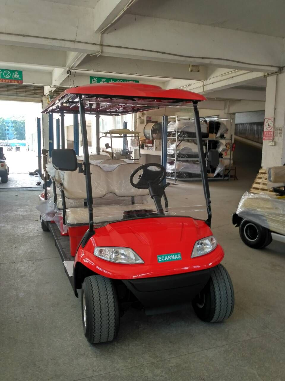 electric cart, electric courtesy shuttle vehicle