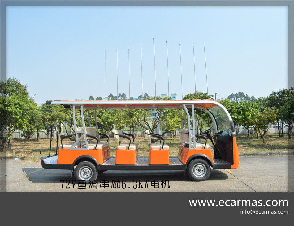 China electric courtesy shuttle vehicles