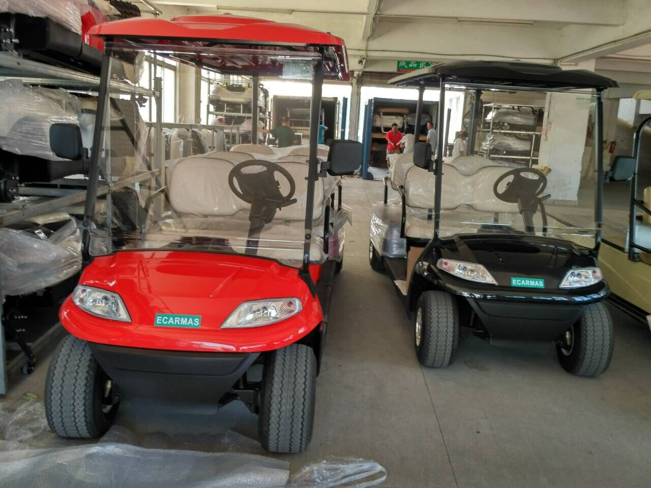 ECARMAS golf buggies shipped to South Africa