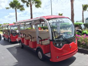 ECARMAS 14 seater electric tourist car