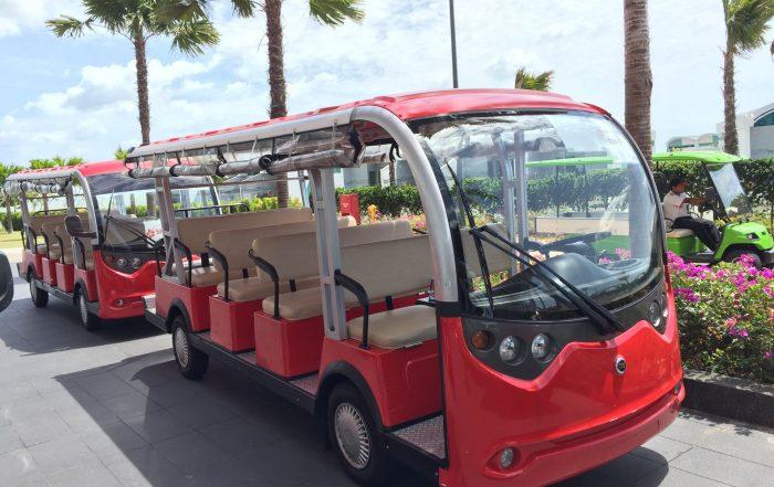 ECARMAS 14 seater electric tourist car