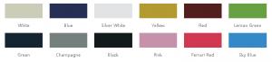 ECARMAS electric cart color choice