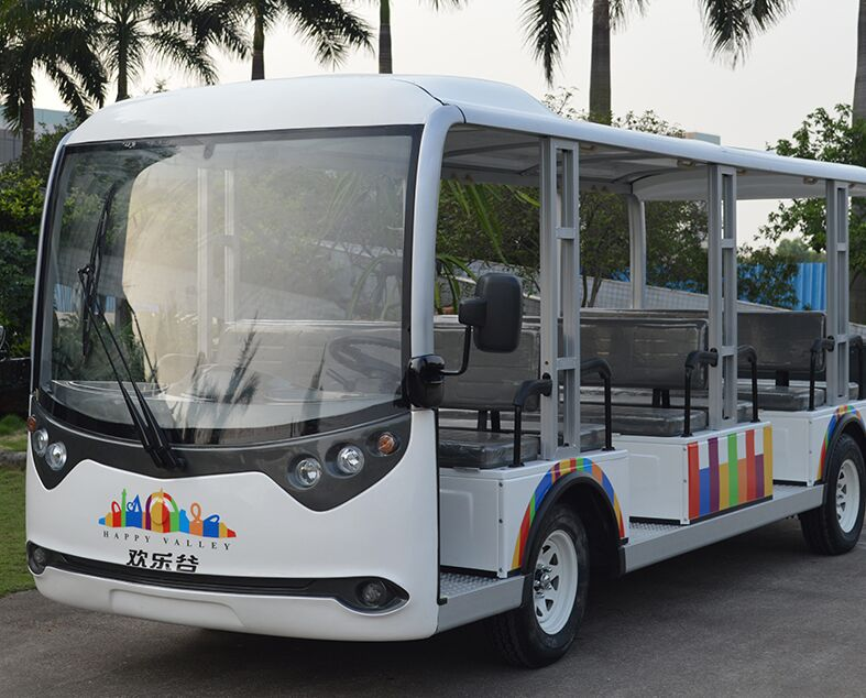 ECARMAS 23 seater electric tourist bus, electric tourist cars, sightseeing cars, electric lowspeed vehicles, electric carts, electric shuttle cars, electric buggies