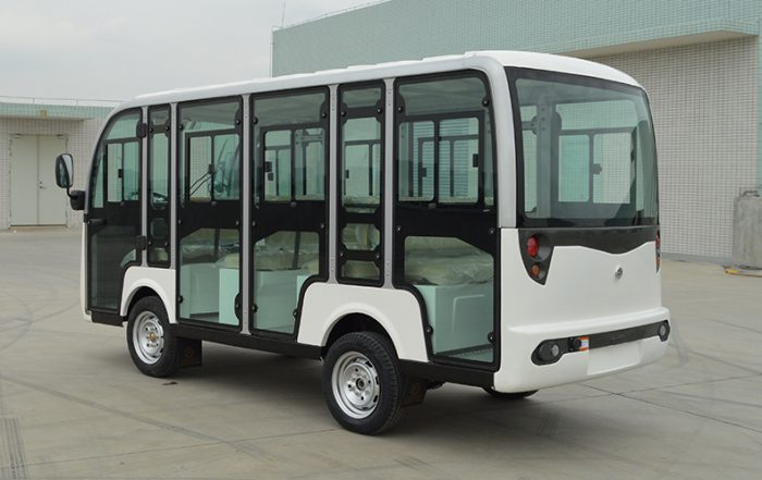 electric car, ECARMAS S8+3.F 11 seater electric sightseeing shuttle vehicle, electric tourist car, electric tourist bus