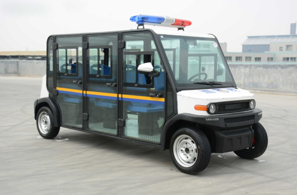 ECARMAS mini electric police car, police vehicle, electric police vehicle, small police patrol vehicle