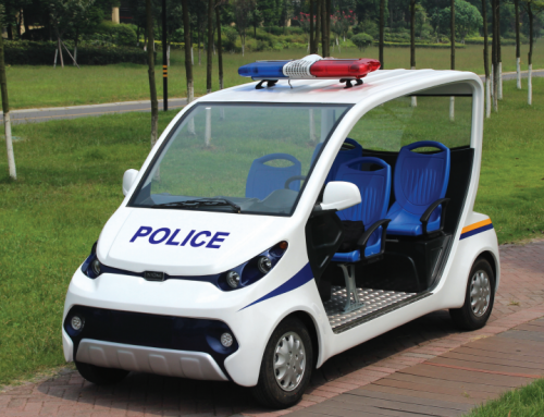 Electric police cars: the future of policing