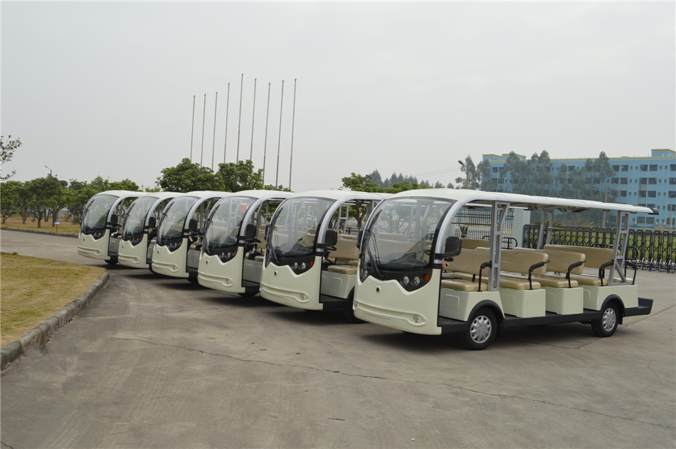 Electric open bus